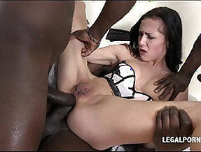Little nicole to bang with bat wing pussy hardcore nasty gangbang no
