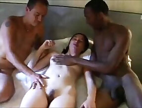 Hot wife shared with big mamba girl with huge monster cock stud