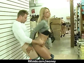 Naked blonde girl and hard style anal fuck video