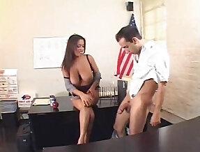 Alexis Silver Busty Teacher