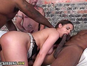 Slut interracial