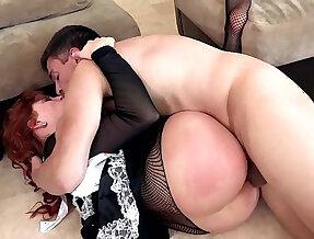 redhead maid fuck punishment