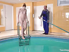 memorable fuck wits the pool is a paradise for sex-mad girl Ilona C