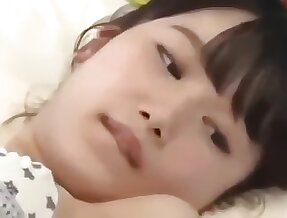 Hot Japanese oil massage goes too far be worthwhile for undevious shy Asian teen girl.