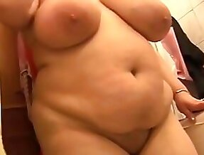 Busty hairy mature BBW solo then fucked & fisted